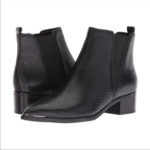 Marc Fisher Yale Chelsea Leather Ankle Boots.